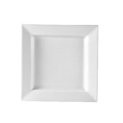 CAC PNS-6 6 Princesquare Bread Plate - Porcelain, Super White on Sale