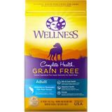 Wellness Grain-Free Complete Health Adult Whitefish & Menhaden Fish Meal Recipe Dry Dog Food, 24-lb