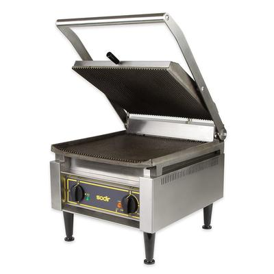 Equipex PANINI XL/1 Commercial Panini Press w/ Cast Iron Grooved Plates, 120v on Sale