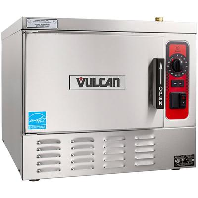 Vulcan C24EA3-LWE (3) Pan Convection Steamer - Countertop, 208v/3ph