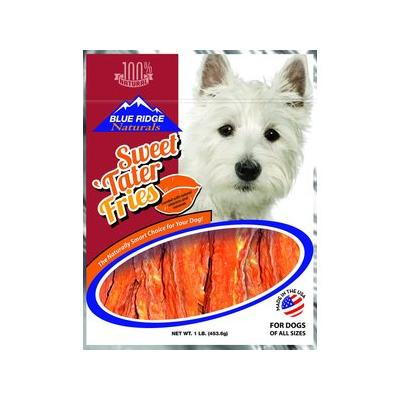 Blue Ridge Naturals Sweet Tater Fries Dog Treats, 1-lb bag