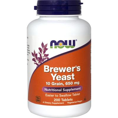 NOW Foods Brewer's Yeast-200 Tablets
