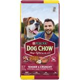 Dog Chow Tender & Crunchy with Real Lamb Dry Dog Food, 32-lb bag