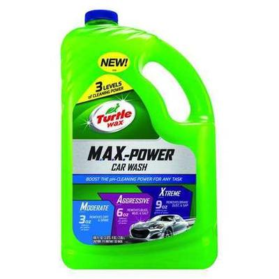 Car Wash, Concentrated, 100 oz., Bottle, Green, Green Liquid, Contains Water Surfactants, pH 10.2, Removes Vehicle Dirt, For Use With Auto, Truck