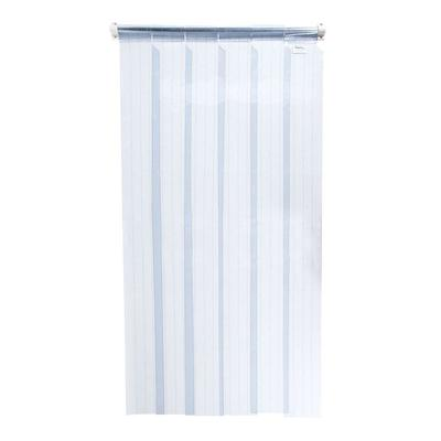 Curtron M108-PR-80-3PK 80 M-Series Replacement Strips - 8 Wide Strips, Looped-Top, PVC on Sale