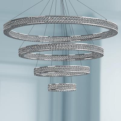"Maxim Eternity 39 3/4"" Wide Chrome LED Pendant Light"