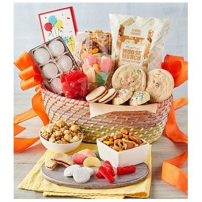 Classic Birthday Basket - Gift Baskets & Fruit Baskets - Harry and David