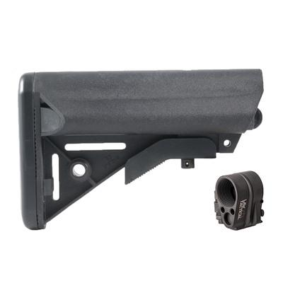 Brownells Ar-15 Enhanced Sopmod Stock Collapsible W/ Folding Stock Adapter - Ar-15 Enhanced Sopmod S