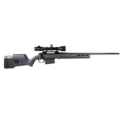 Magpul Rem 700 La Hunter Stock Adjustable - Rem 700 La Hunter Stock Adj Polymer Gray