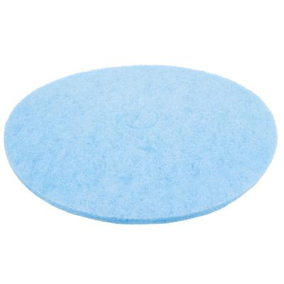 "Scrubble by ACS 52-27 Type 52 27"" Blue Velvet Burnishing UHS Floor Pad - 2/Case"