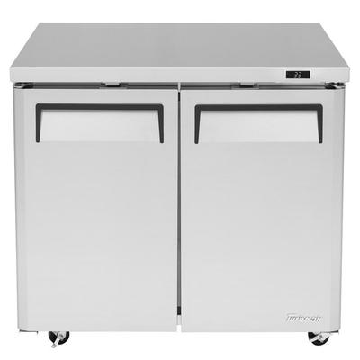 SB: Turbo Air MUR-36L-N6 M3 Series 36  Low Profile Undercounter Refrigerator The Turbo Air MUR-36L-N6 M3 Series 36  low profile undercounter refrigerator boasts a compact size and an ultra-efficient refrigeration system to keep all of your ingredients close at hand and ready for use! For convenient, comfortable use and reduced...