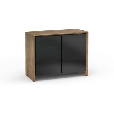 Salamander Designs Chameleon Collection Barcelona 323 Natural Walnut with Black Doors