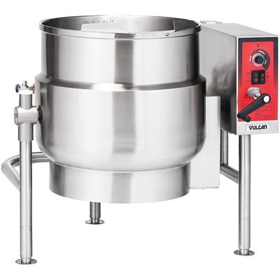 Vulcan K20ELT 20-gal. Steam Kettle - Manual Tilt, 2/3 Jacket, 208v/3ph on Sale