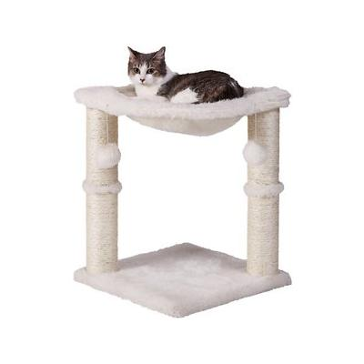 Frisco 20-in Cat Tree, Ivory; If you want to give your kitty a spot of his own, but don't have room for a colossal cat tree, then the Frisco 20-Inch Cat Tree is the ideal solution. It's just big enough for your cat, and compact enough to fit in any...