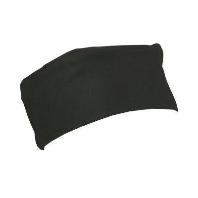 Ritz RZCBBK Chef's Beanie w/ Elastic Band, Black