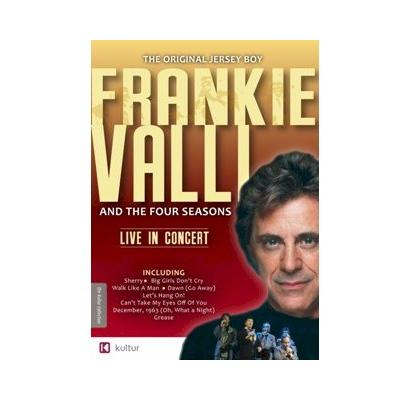 45% PRICE DROP: Frankie Valli and The Four Seasons Live In Concert DVD