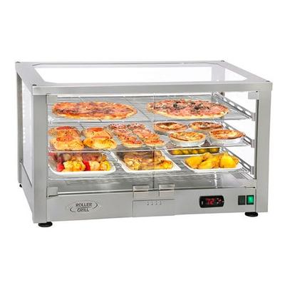 Equipex WD780S-2/1 30.5 Full-Service Countertop Heated Display Case w/ Straight Glass - (2) Shelves, 120v on Sale