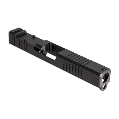 Brownells Rmr Cut Slide For Gen3 Glock 9mm - Rmr Slide For Gen3 Glock 17 Stainless Nitride on Sale