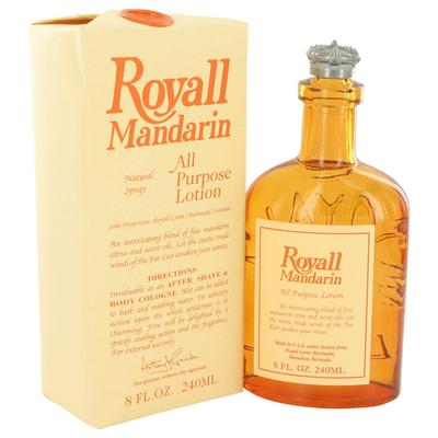 Royall Mandarin For Men By Royall Fragrances All Purpose Lotion / Cologne 8 Oz