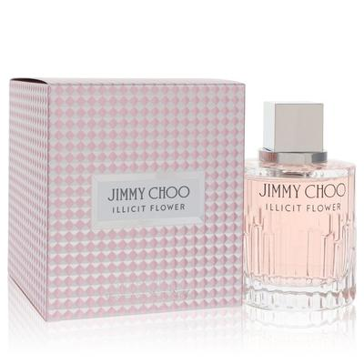 Jimmy Choo Illicit Flower For Women By Jimmy Choo Eau De Toilette Spray 3.3 Oz