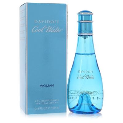Cool Water For Women By Davidoff Deodorant Spray 3.3 Oz