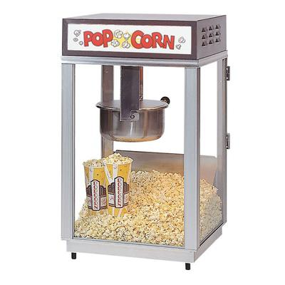 Gold Medal 2661 Ultimate-60 Special Popcorn Machine w/ 6 oz Popper & Stainless Dome, 120v on Sale