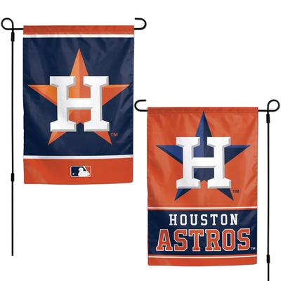 """WinCraft Houston Astros 12"""" x 18"""" Double-Sided Garden Flag"""