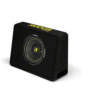 """Kicker CompC 44TCWC104 Single 10"""" Ported Loaded Enclosure on Sale"""