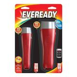 Eveready 12408 - Red General Purpose LED Flashlights (Batteries Included) (Set of 2) (EVGPM15H)