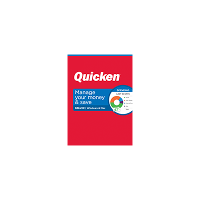 Quicken Deluxe for Mac 2019
