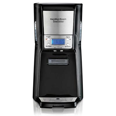 Hamilton Beach 48464 12 Cup BrewStation Summit Coffee Maker - Black/Stainless, 120v on Sale