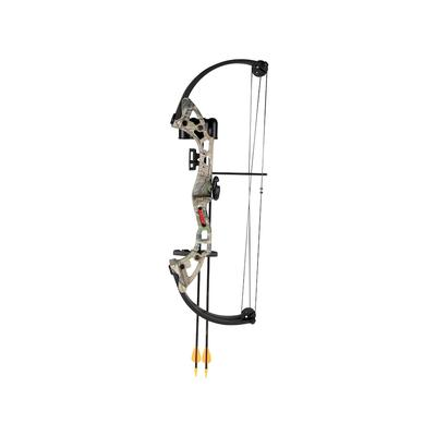 Bear Archery has designed the Brave Youth Bow to specifically fit the needs of youth and intermediate shooters. Featuring an adjustable draw weight from 15 to 20 pounds, and a draw length range from 13.5\\\