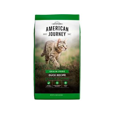 American Journey Duck Recipe Grain-Free Dry Cat Food, 12-lb bag