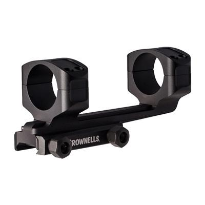 Brownells 30mm Ar-Style Rifle Cantilever Scope Mount - 30mm Cantilever Scope Mount 0 Moa Matte Black