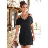 Cold Shoulder Dress Dresses - Black