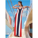 Color Block Maxi Dress Dresses - Black/yellow/green/purple/white/orange/blue/red