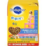 Pedigree Puppy Growth & Protection Chicken & Vegetable Flavor Dry Dog Food, 36-lb bag