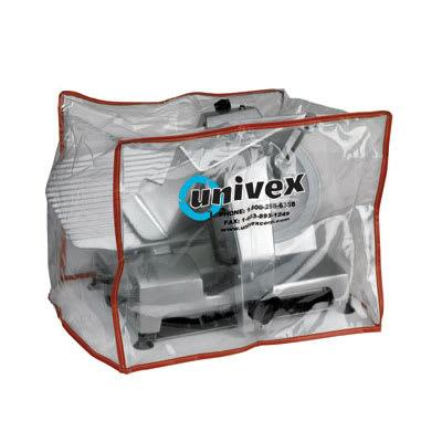 Univex CV-0 Heavy Duty Plastic Equipment Cover For Small to Medium Slicers on Sale