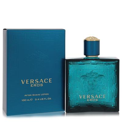 Versace Eros For Men By Versace After Shave Lotion 3.4 Oz