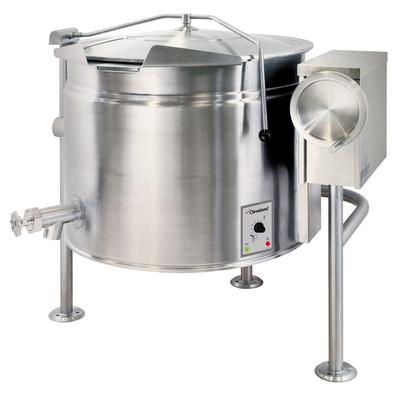 Cleveland KEL100T 100-gal. Steam Kettle - Manual Tilt, 2/3 Jacket, 208v/3ph on Sale