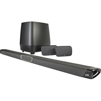 Polk Audio MagniFi MAX SR soundbar w.Googlecast audio + SR spkrs