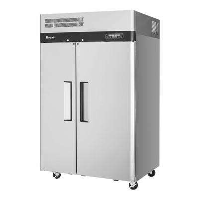 Turbo Air M3RF45-2-N 50 Two Section Commercial Refrigerator Freezer - Solid Doors, Top Compressor, 115v on Sale