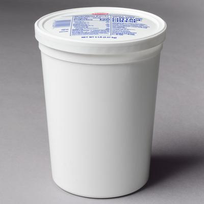 5 lb. Small Curd Cottage Cheese - 4/Case