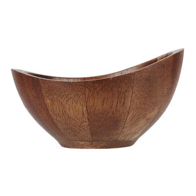 Churchill ZCAWSMBL1 10.5 oz Oval Alchemy Buffet Bowl, Wood on Sale