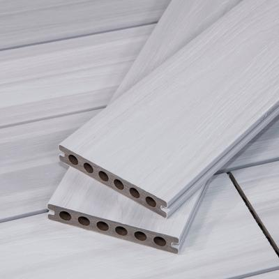 TruOrganics® White Composite Decking Boards, Wood Grain, Sample