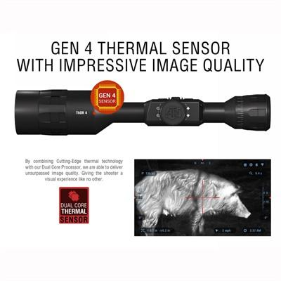 Atn Thor 4 2-8x 384x288 Thermal Scope - 2-8x Thor 4 384x288 Thermal Scope