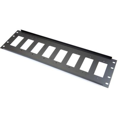 Metra ethereal CS-RDECO8 3U Decora 8 Port Rack Panel