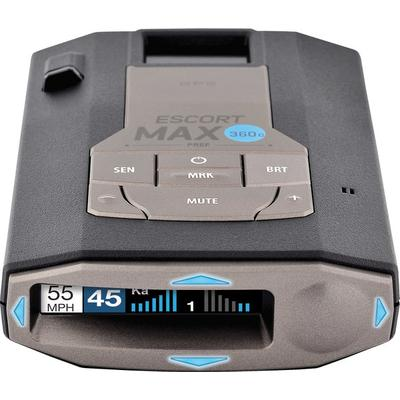Escort Max360c Radar Detector with GPS and Wifi