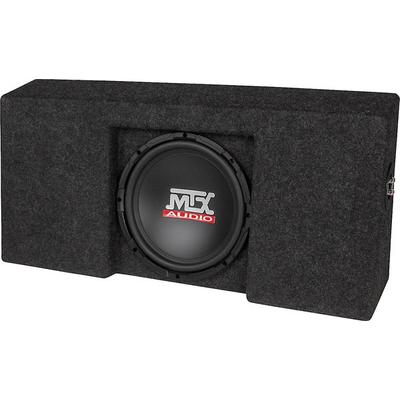 "MTX T-form 09-up F-150 CrewCab Black w/ 10"" Sub"