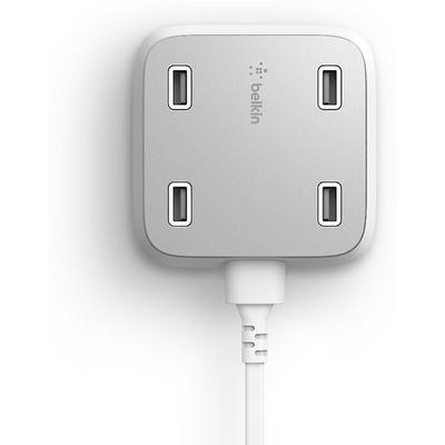 Belkin F8M990ttWHT 4-Port USB Home Charger